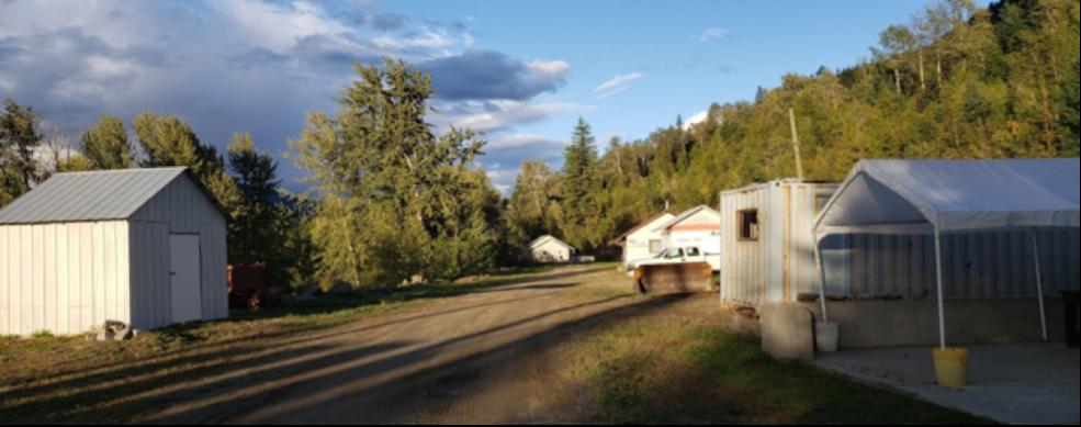 Kenville Gold Mine Camp